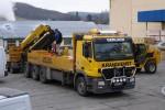 Mercedes Actros with loader crane Palfinger PK 56000