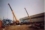 Doppelhub Krupp GMT 60 und Demag HC 75