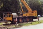 Demag AC 265 in use